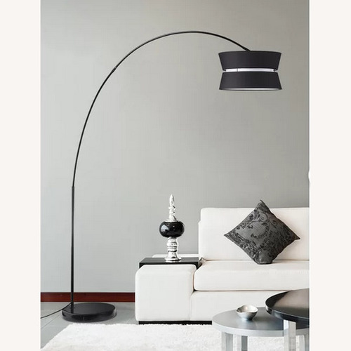 """Used Aline 71"""" Arched/Arc Floor Lamp for sale on AptDeco"""