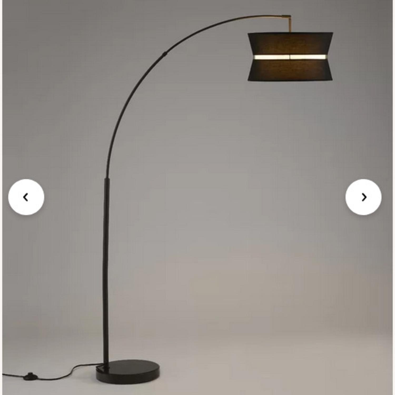 "Aline 71"" Arched/Arc Floor Lamp - image-2"