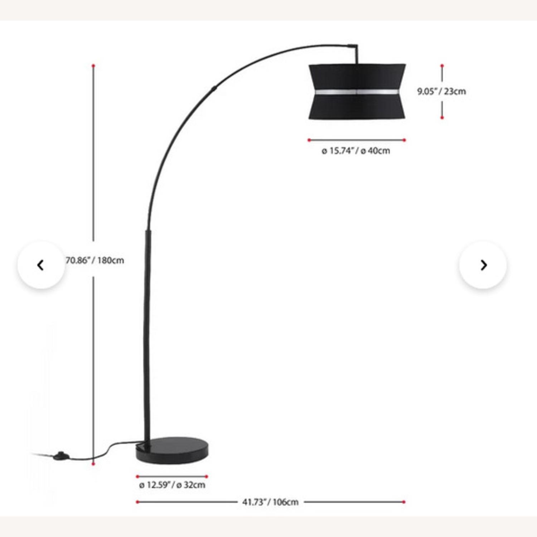 "Aline 71"" Arched/Arc Floor Lamp - image-3"