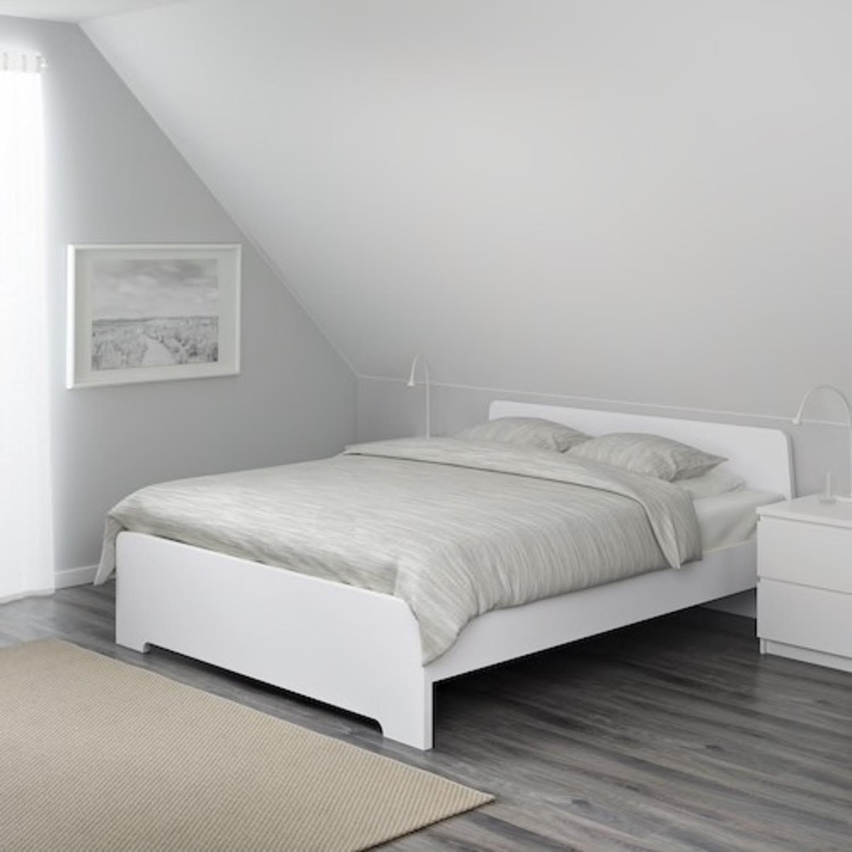 IKEA Full Bed Frame - image-1