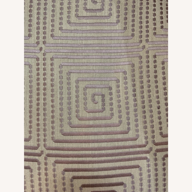 Custom Upholstered Swivel Accent Chair - image-7