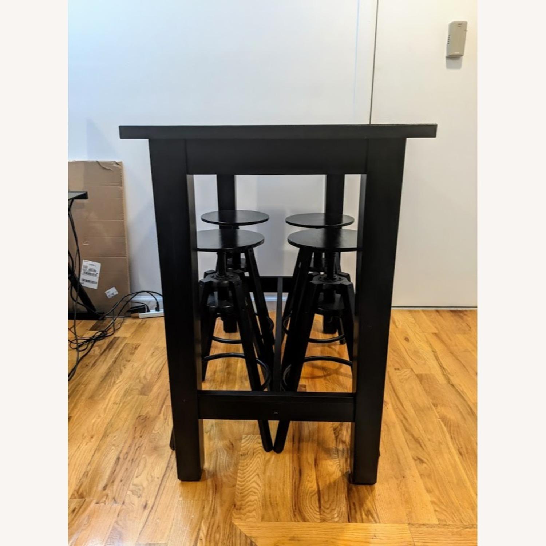 IKEA Modern High Top Dining Table Set - image-2