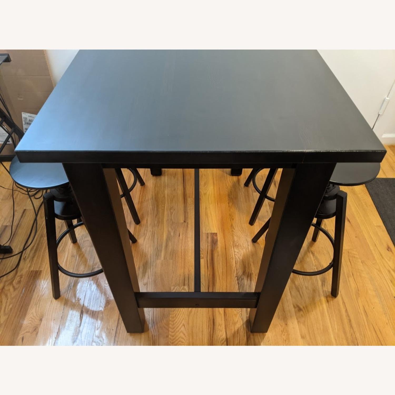 IKEA Modern High Top Dining Table Set - image-3