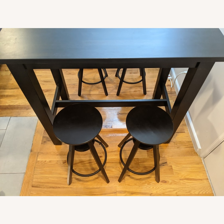 IKEA Modern High Top Dining Table Set - image-1