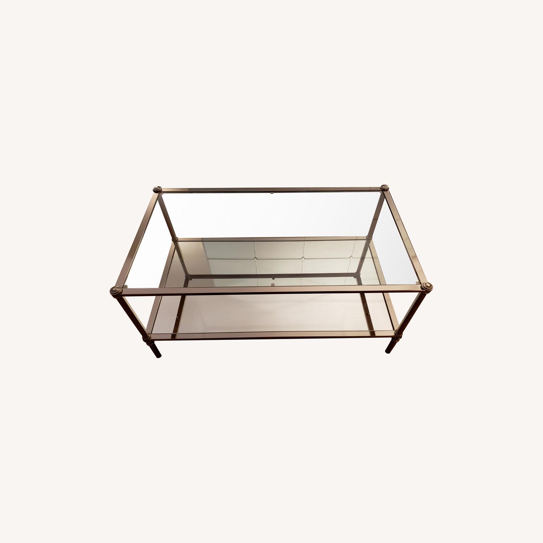 Wayfair Glass Coffee Table - image-0