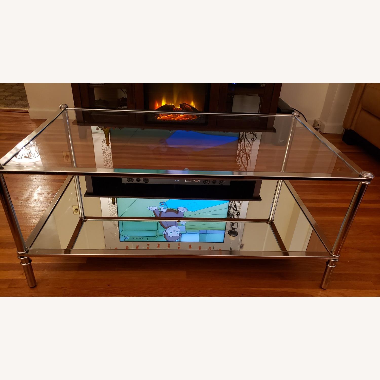 Wayfair Glass Coffee Table - image-11