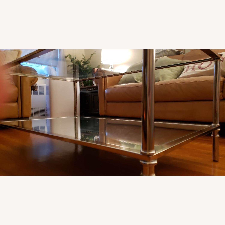 Wayfair Glass Coffee Table - image-9