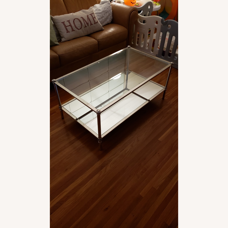 Wayfair Glass Coffee Table - image-1