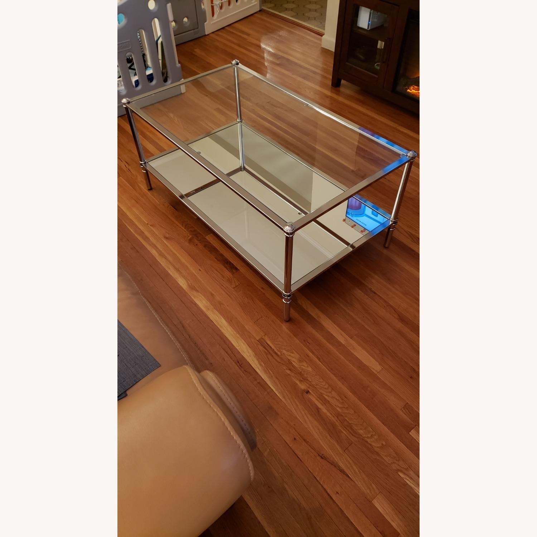 Wayfair Glass Coffee Table - image-2