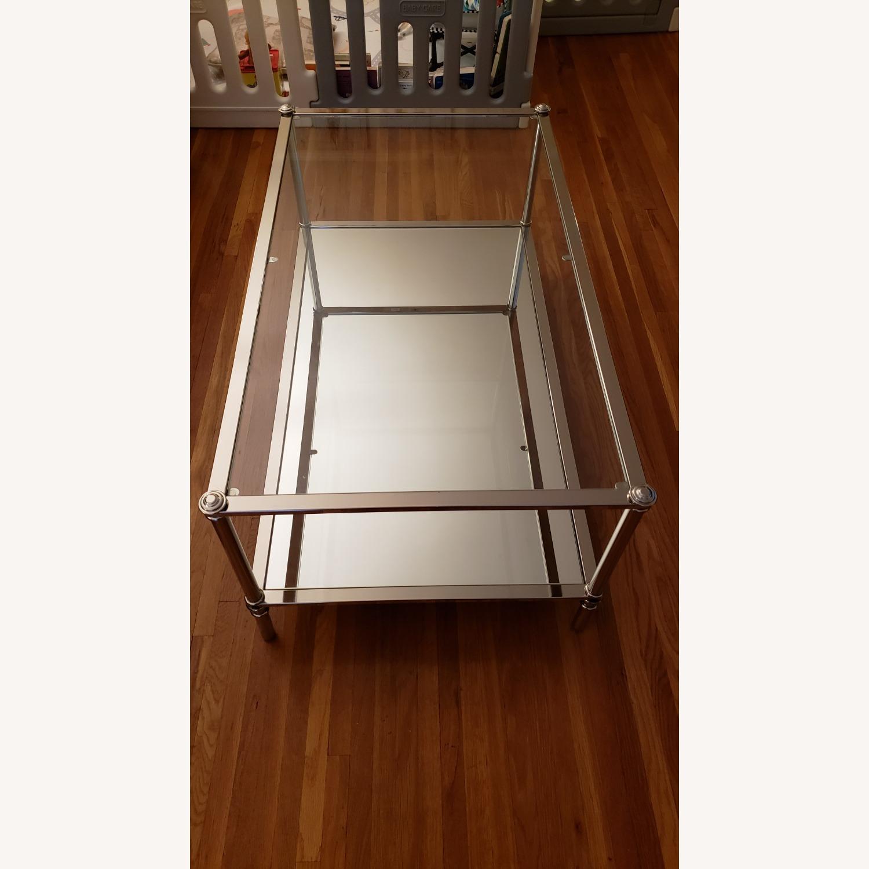 Wayfair Glass Coffee Table - image-3