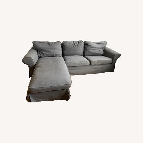 Used IKEA Ektorp W Chaise for sale on AptDeco