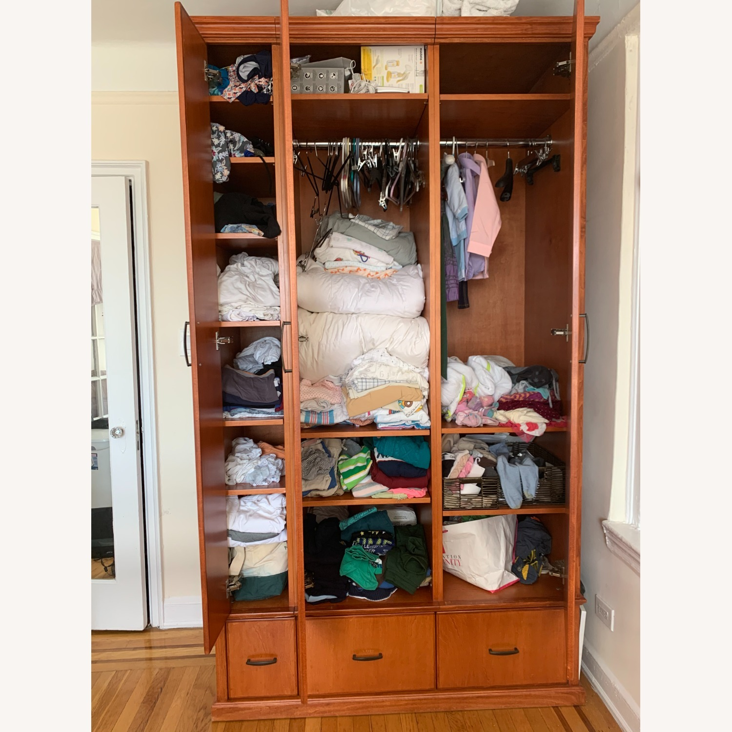 Custom Built Armoire - Made in NYC! - image-1