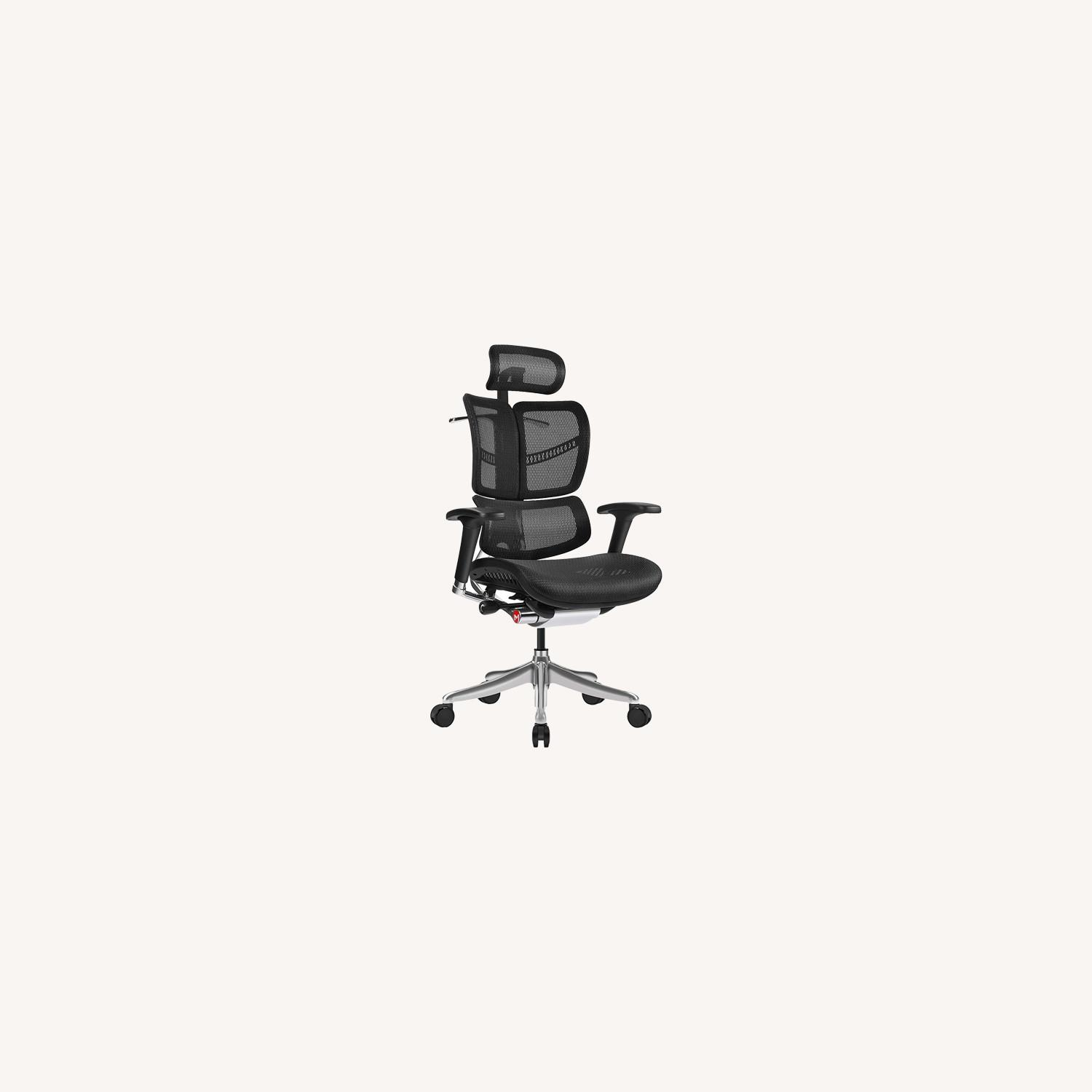 Ergonomic Office Chair with Headrest - image-0