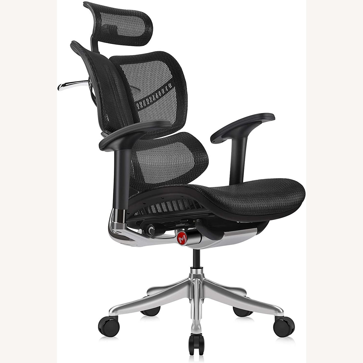 Ergonomic Office Chair with Headrest - image-3