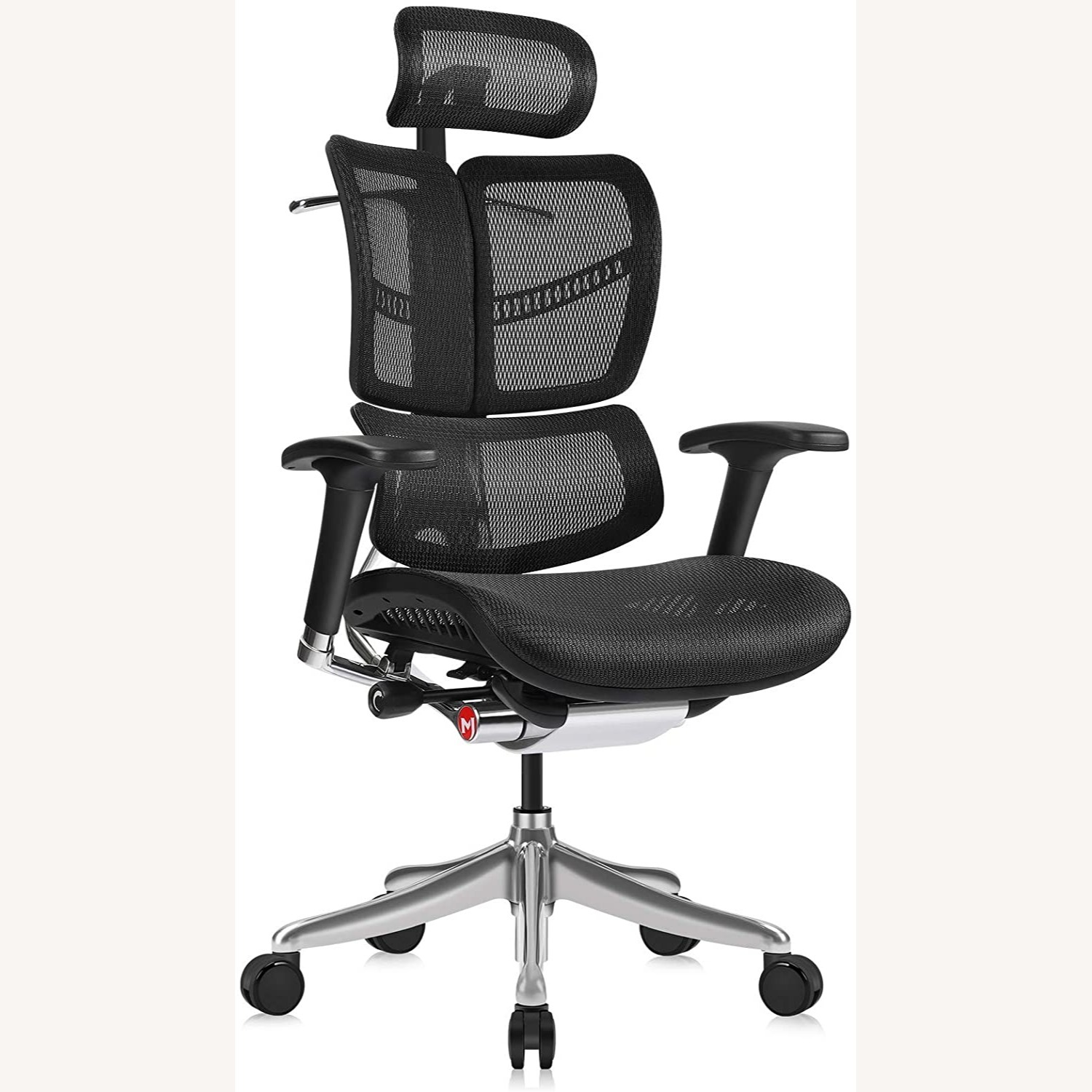 Ergonomic Office Chair with Headrest - image-4