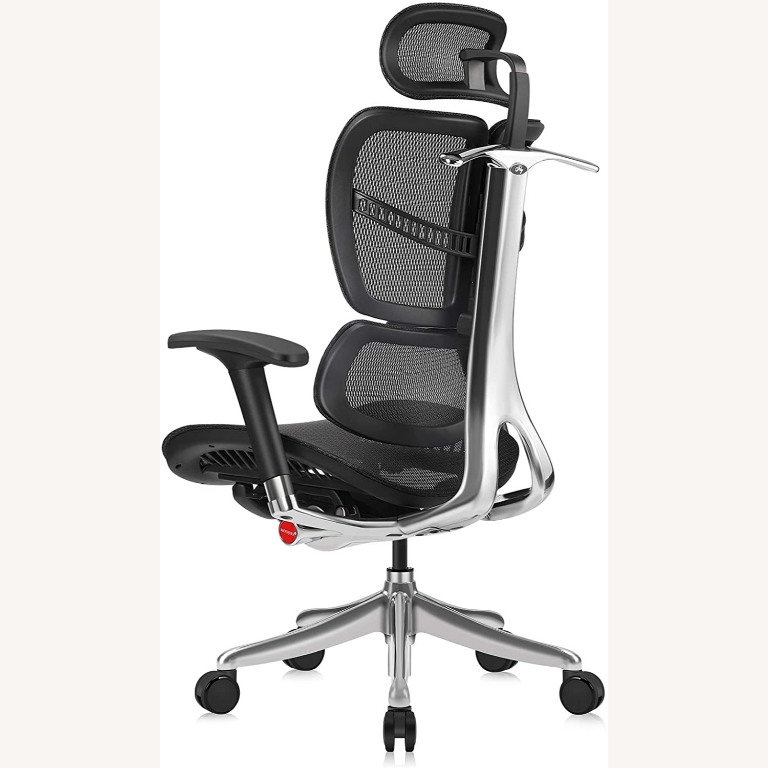 Ergonomic Office Chair with Headrest - image-1
