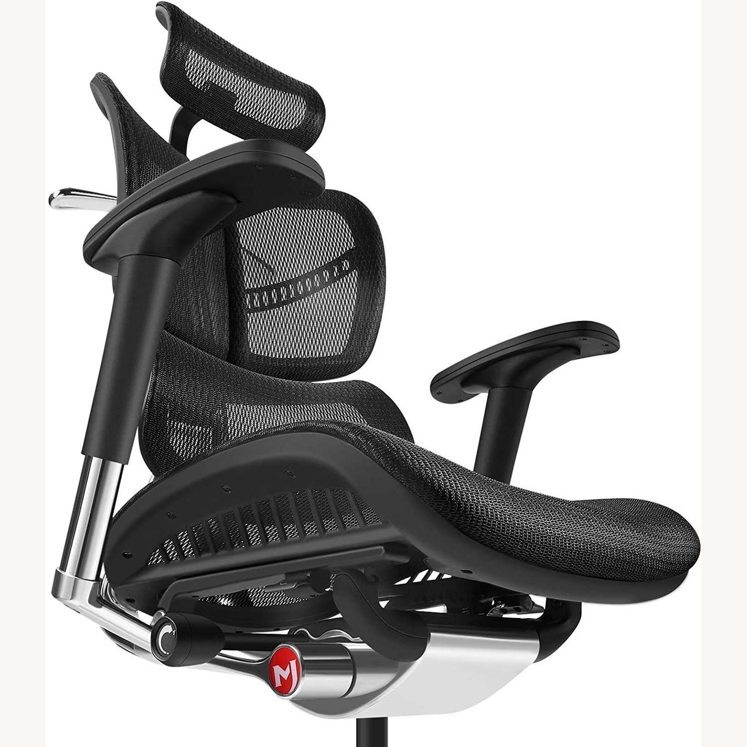 Ergonomic Office Chair with Headrest - image-5