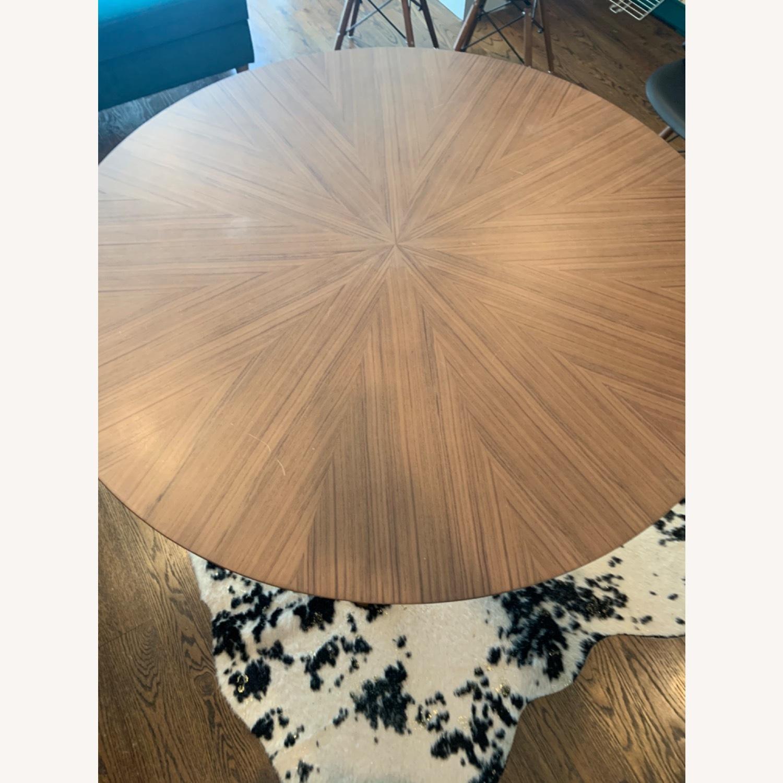 Wayfair Mod Wood Dining Set - image-4
