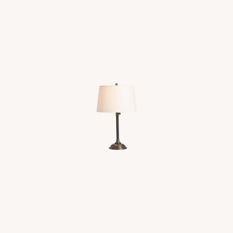 Pottery Barn Metal Adjustable Table Lamp - image-0