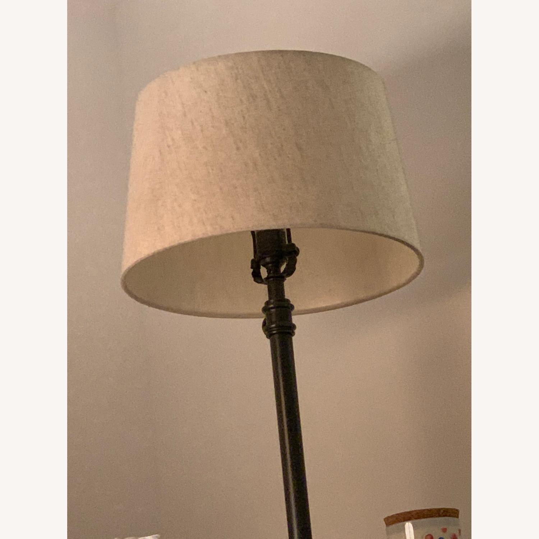Pottery Barn Metal Adjustable Table Lamp - image-2