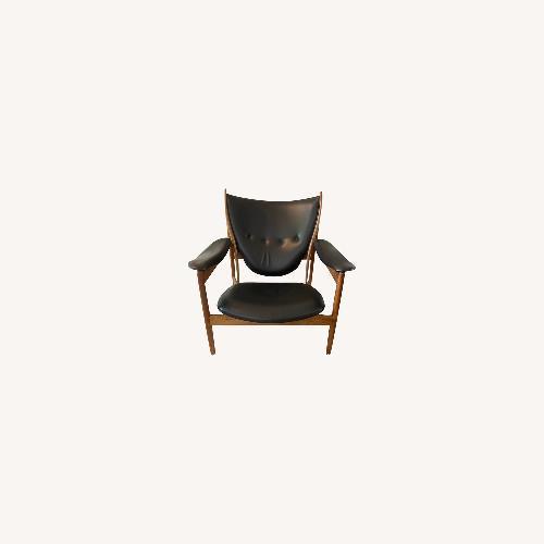 Used Cheiftains Chair Finn Juhl Black for sale on AptDeco