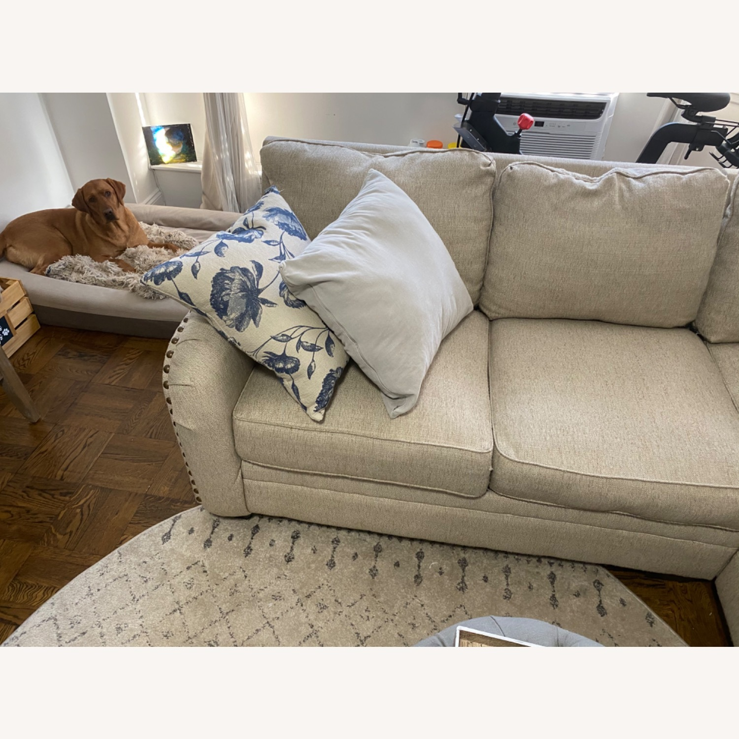 Ashley Home Luxora Beige 4-Piece Sectional Sofa - image-6