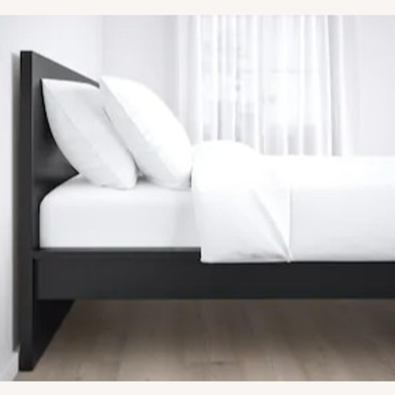 IKEA Twin Bed with slats - image-1