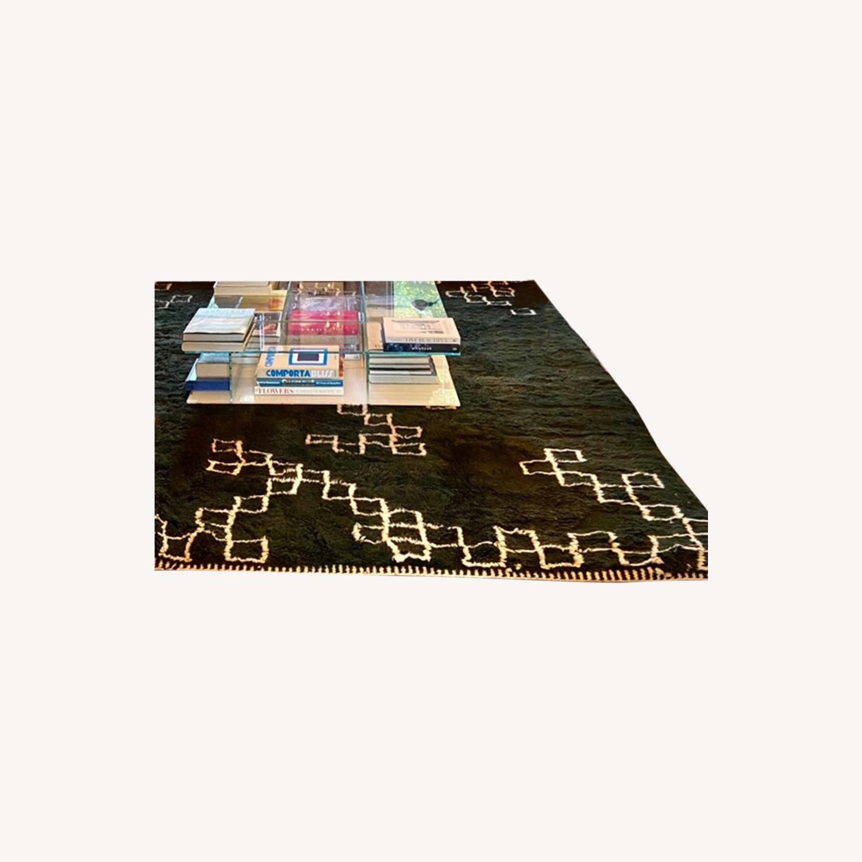 100% Wool Moroccan Area Rug - image-0