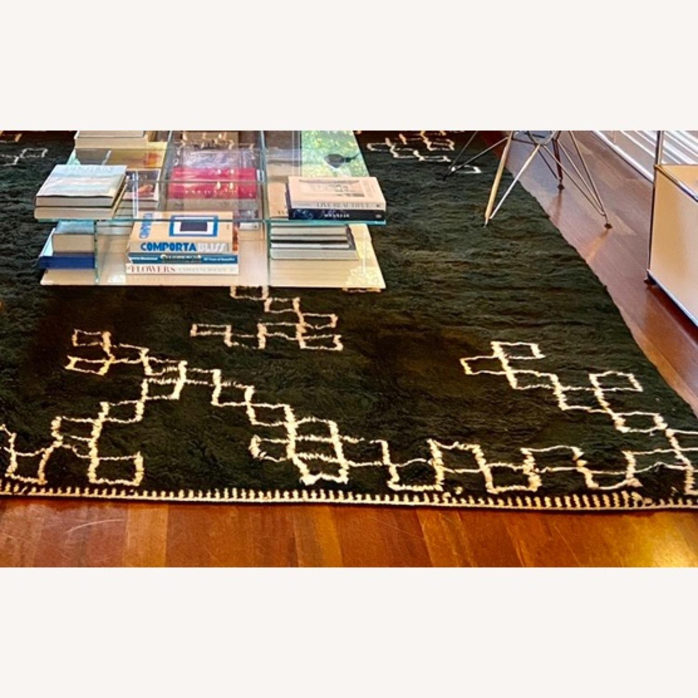 100% Wool Moroccan Area Rug - image-2