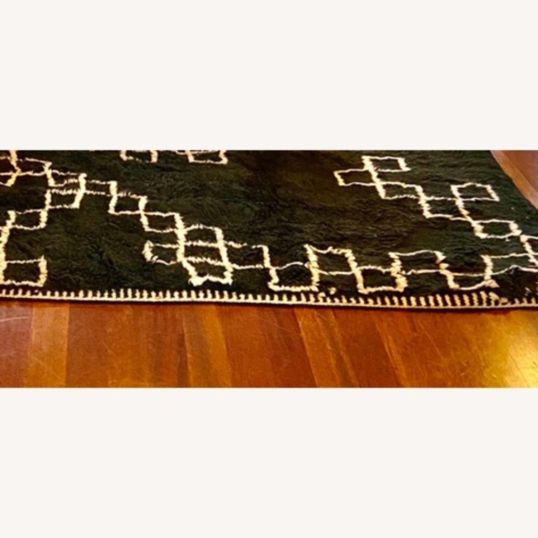 100% Wool Moroccan Area Rug - image-3