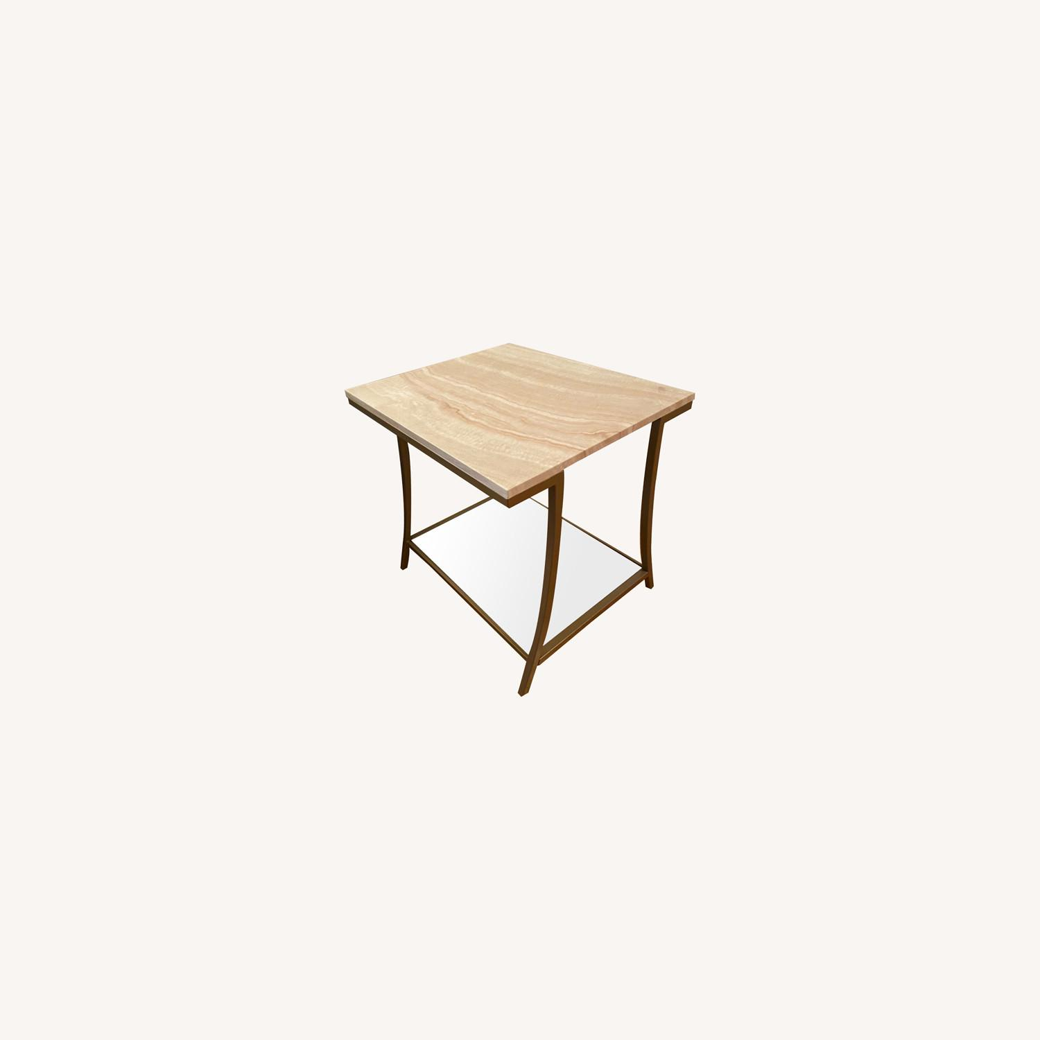 Wayfair Modern Marble Side Table - image-0