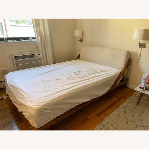 Used CB2 Modern Bed Frame for sale on AptDeco