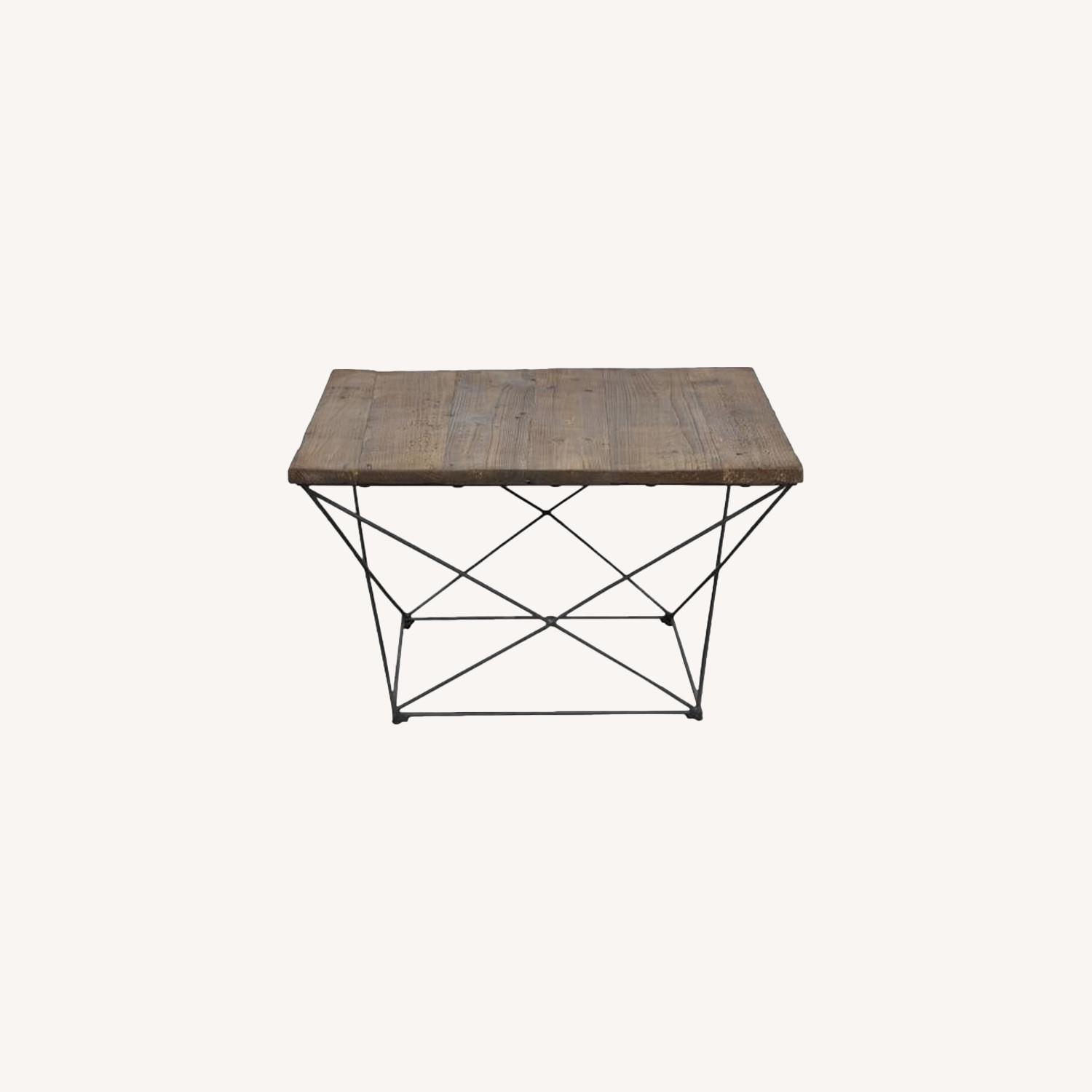 West Elm Reclaimed Wood Coffee Table - image-0