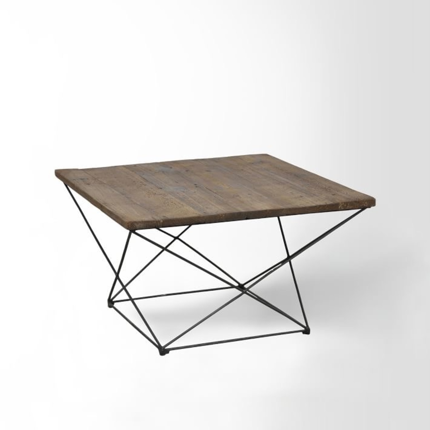 West Elm Reclaimed Wood Coffee Table - image-3