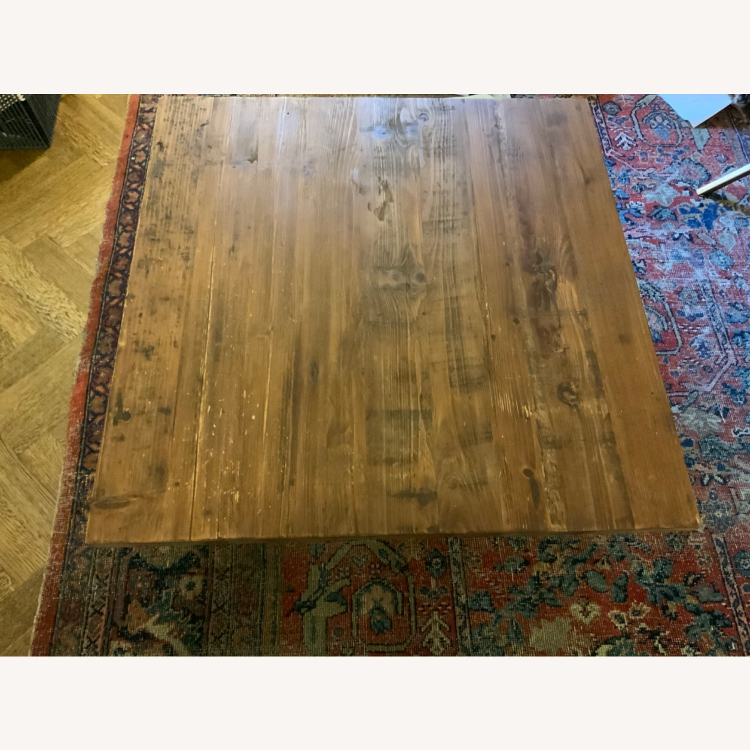 West Elm Reclaimed Wood Coffee Table - image-4