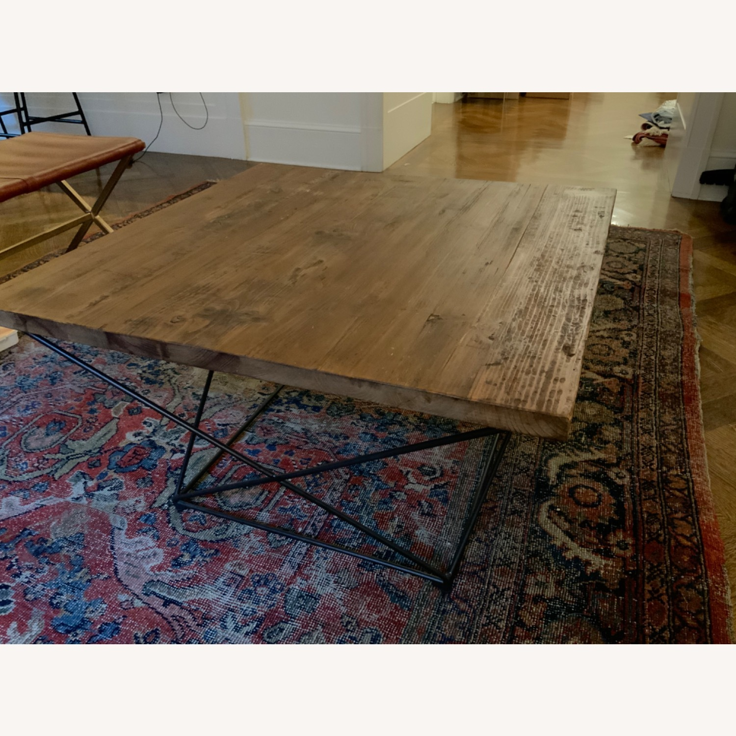 West Elm Reclaimed Wood Coffee Table - image-6