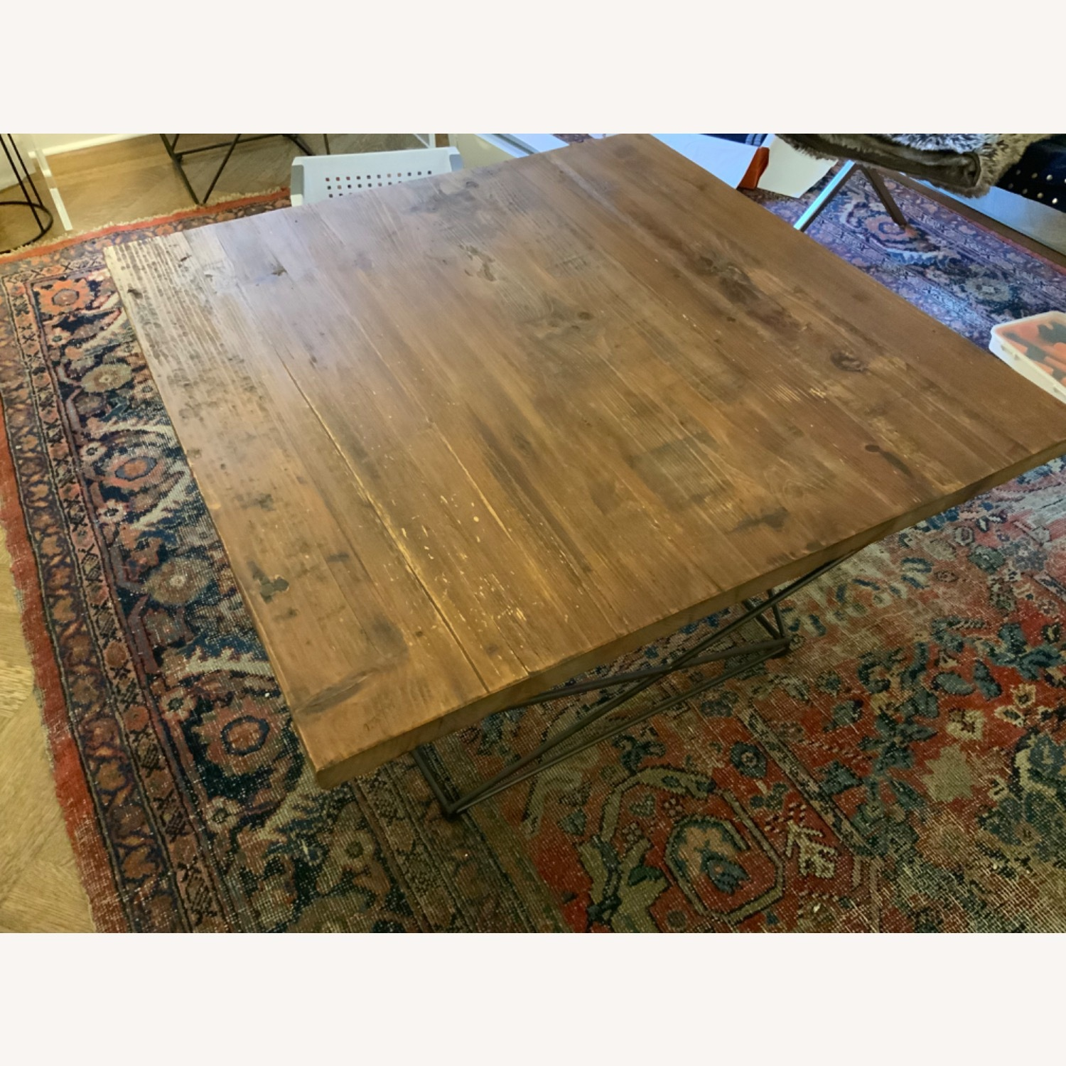 West Elm Reclaimed Wood Coffee Table - image-5