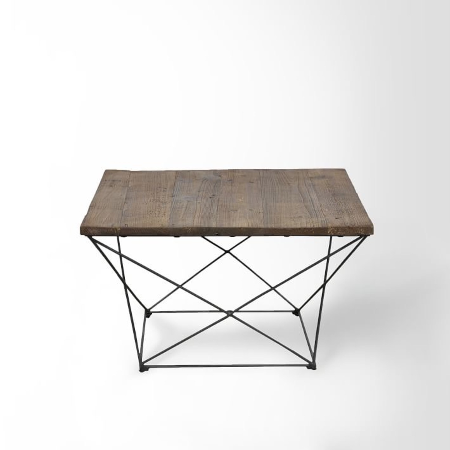 West Elm Reclaimed Wood Coffee Table - image-2