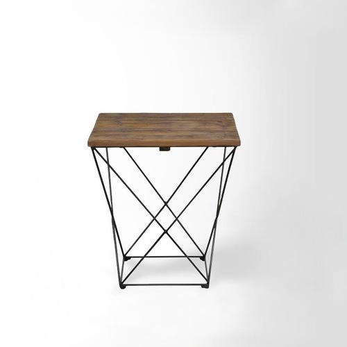 Used West Elm Angled Base Side Table for sale on AptDeco