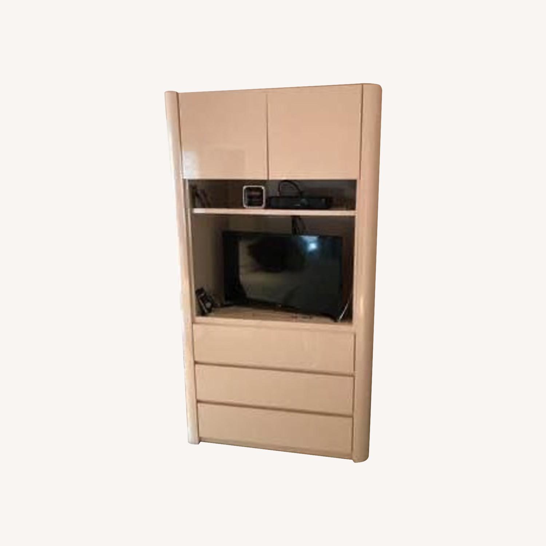 Taylor Made Custom Salmon Formica Dresser - image-0