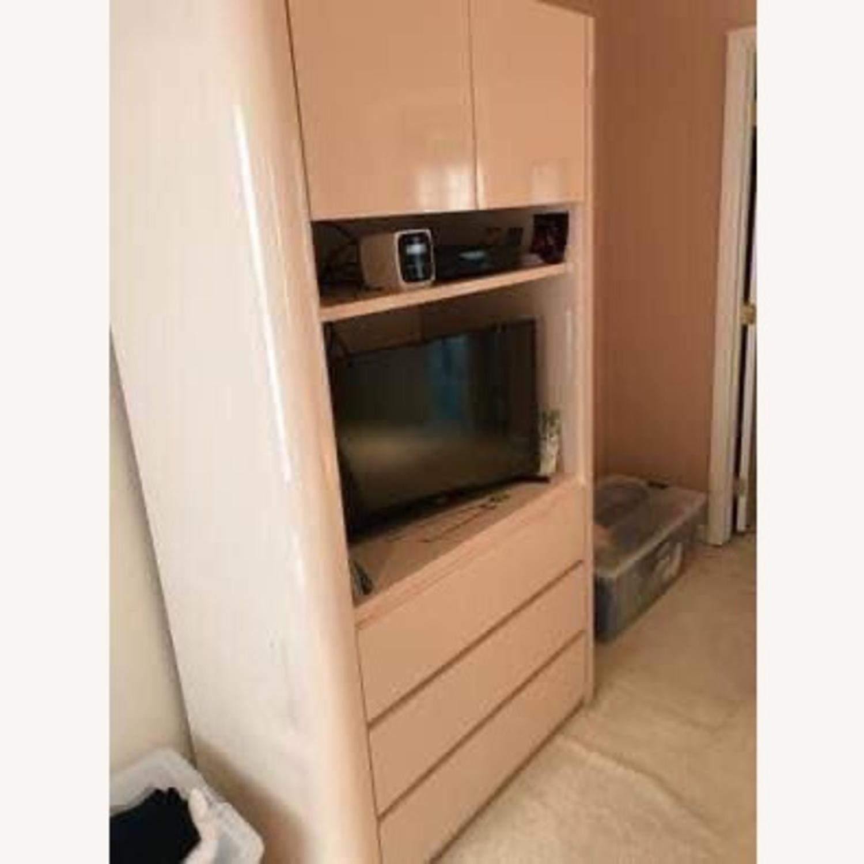 Taylor Made Custom Salmon Formica Dresser - image-2