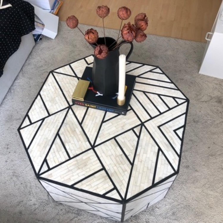 West Elm Geometric Coffee Table - image-1