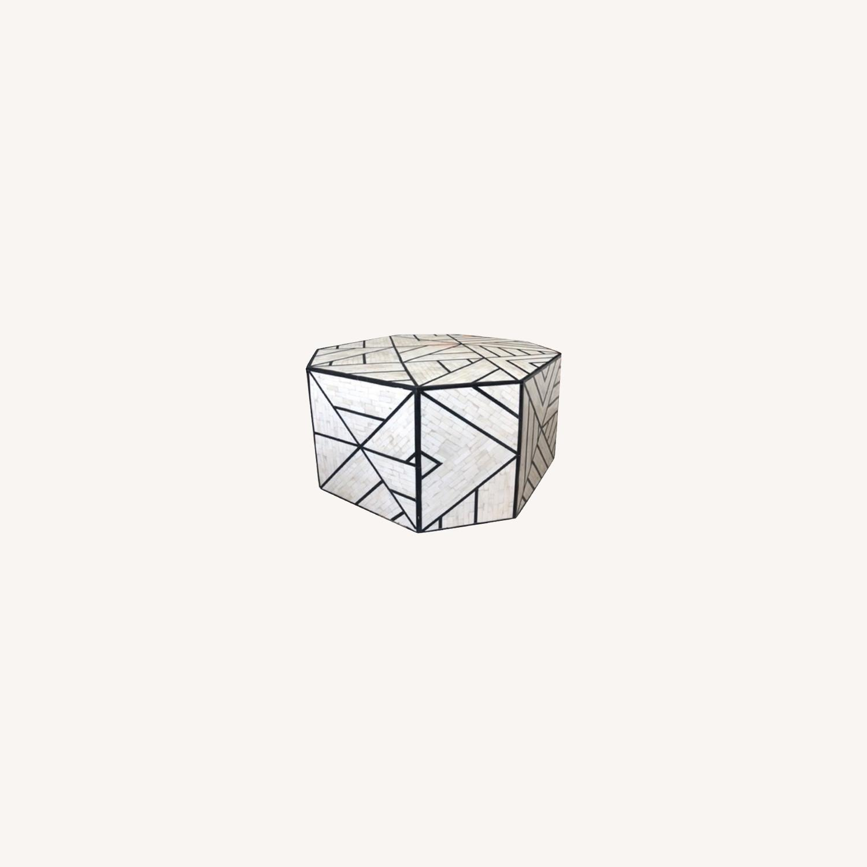 West Elm Geometric Coffee Table - image-0