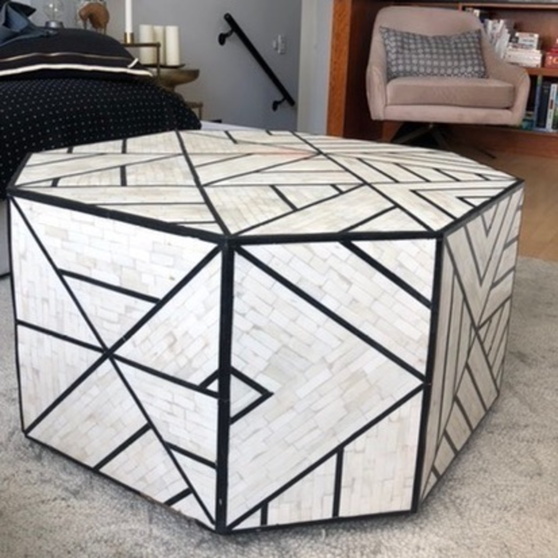 West Elm Geometric Coffee Table - image-5