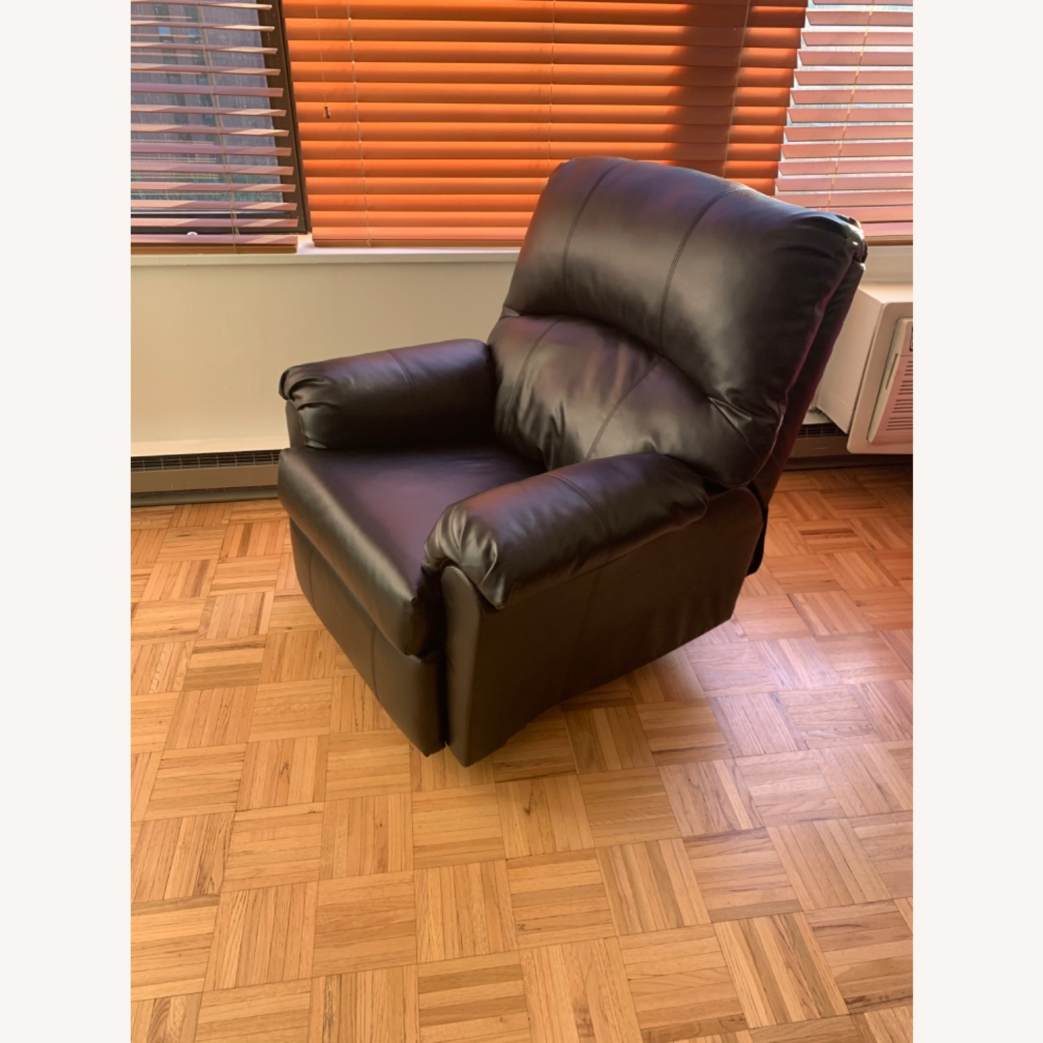 Bob's Discount Manual Leather Recliner - image-2