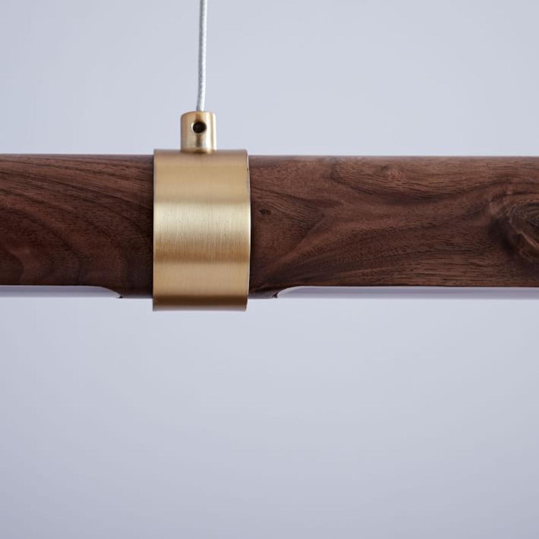 West Elm Linear Pendent Light - image-2