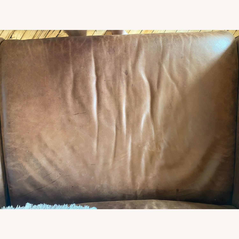 West Elm Dekalb Sofa - Saddle - image-4