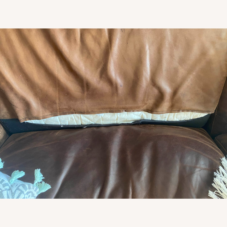 West Elm Dekalb Sofa - Saddle - image-5