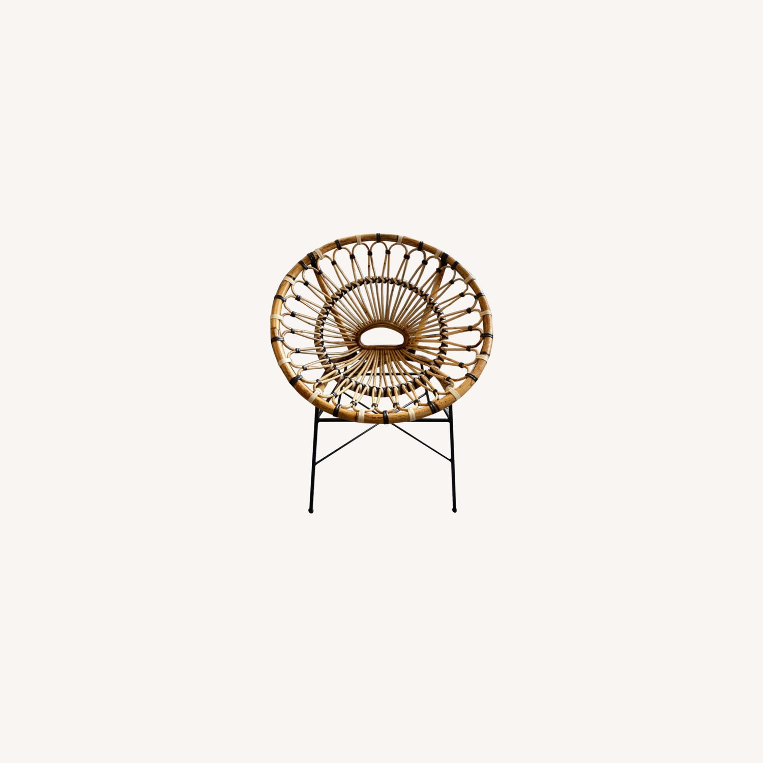 Article Daisy Rattan Lounge Chair - image-0