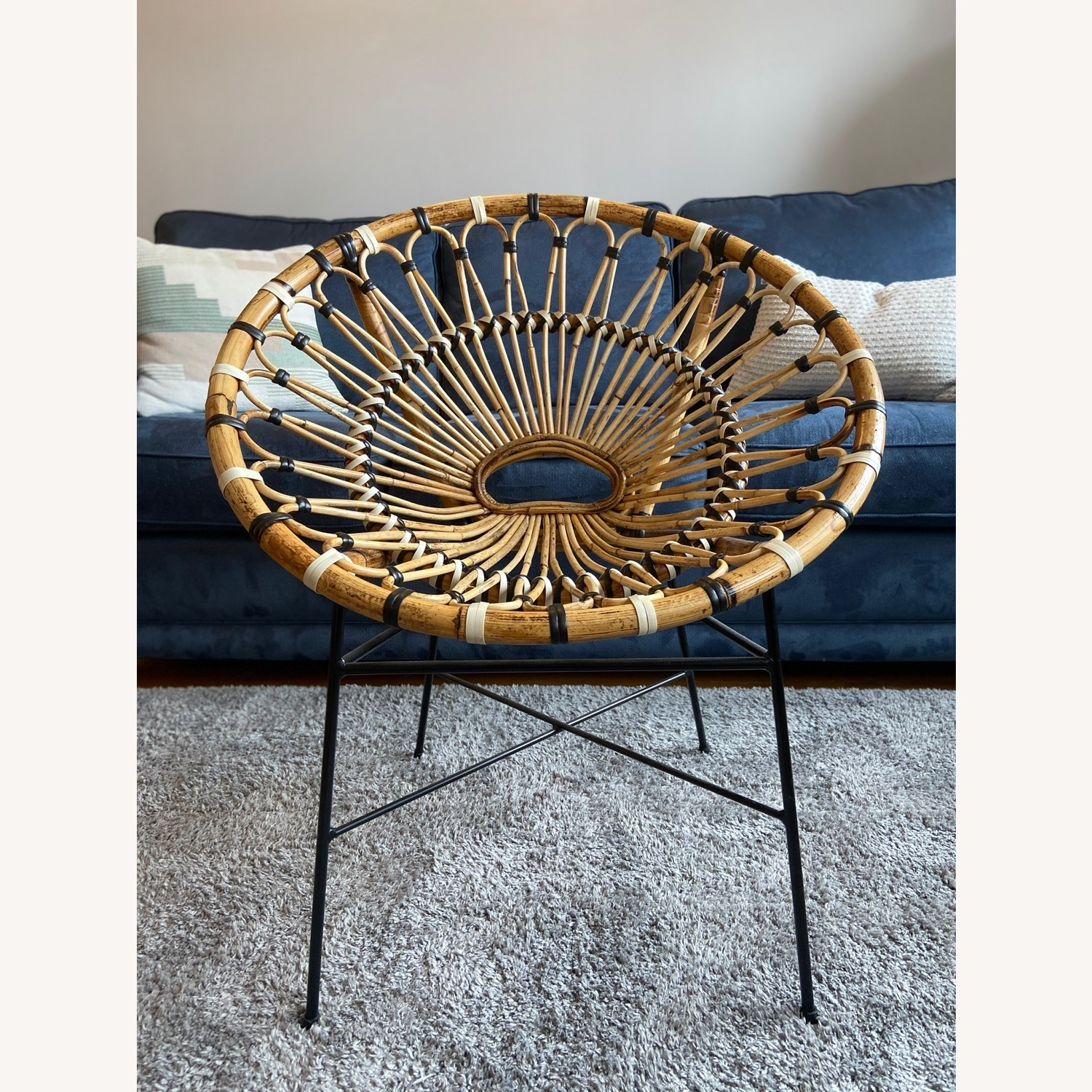 Article Daisy Rattan Lounge Chair - image-3